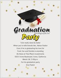 graduation party invitations wording examples stephenanuno com