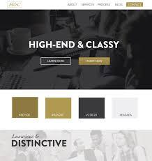 colors web design ideas