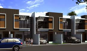 modern row house design planning houses building plans online