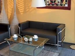 canapé de bureau canapé d accueil 2 places majesty en cuir