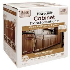 rustoleum kitchen cabinet paint rust oleum cabinet transformations wood refinishing kit at