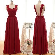 simple dresses simple straps ruffles a line bridesmaid dress