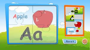 amazon com preschool alphabet kids abc puzzles and flashcards