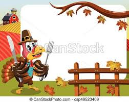 vector illustration of pilgrim hat thanksgiving turkey