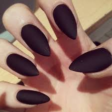 black claws acrylic claw nails
