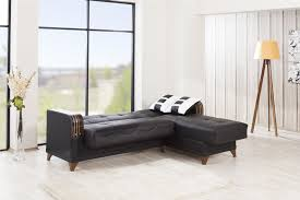 Black Sectional Sofa Bed by Almira Zen Black Sectional Sofa By Casamode