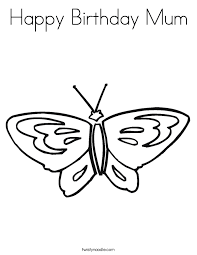 birthday card coloring pages kids coloring