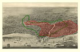 Aerial Map Of Chicago by Dr Robert C Hamill U2013 The Geography Of Erysipelas In Chicago
