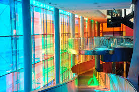 Colorful Interior Free Photo Colorful Interior Stairs Glass Free Image On