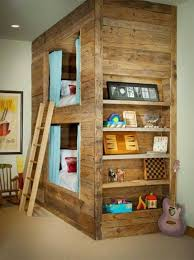 Making Wooden Bunk Beds by Best 25 Kids Pallet Bed Ideas On Pinterest Reading Tent Kids