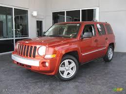 patriot jeep 2010 2008 sunburst orange pearl jeep patriot limited 12338940