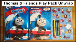 thomas u0026 friends play pack grab unwrap
