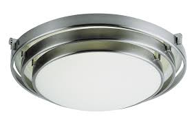 Ceiling Lighting Fixtures by Decorating U0026 Accessories Appealing Satin Nickel Flush Mount