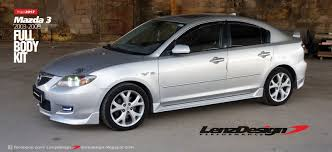 mazda 3 2009 mazda 3 bk tuning u0026 body kit lenzdesign performance 2003 2004 2005