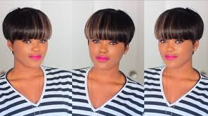 diy quick u0026 easy faux mushroom bowl cut wig youtube
