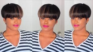 diy quick u0026 easy faux mushroom bowl cut wig youtube