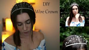 halloween crowns and tiaras diy wire crown super easy and cheap irenerudnykphoto youtube