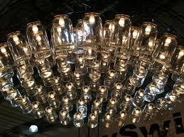 decorations very large chandelier light fixutre made of glass decorations very large chandelier light fixutre made of glass jars idea creative light fixtures with