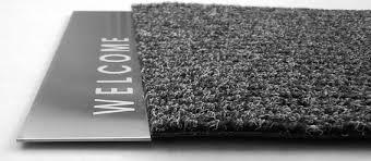 artikel design fußmatte welcome edelstahl smartes wohnen - Design Fussmatten