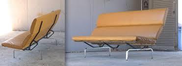 Herman Miller Sofas Charles Eames Sofa Compact For Herman Miller U2014 Service Brown