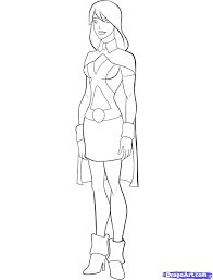 how to draw miss martian step by step cartoon network characters