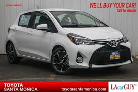 toyota new 2017 new 2017 toyota yaris 5 door se auto 4dr car in santa monica