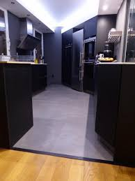 béton ciré sol cuisine plan de travail cuisine en beton cire 7 sol b233ton cir233