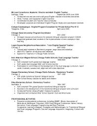 Bilingual In Resume Resume For Seller Cover Letter Graduate Assistantship Position