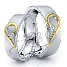 wedding rings his and hers wedding ring sets for him with lifetime warranty