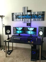 Pc Gaming Desk For Sale Computer Gamer Desk Modelthreeenergy