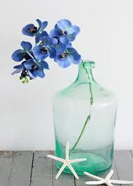 Blue Orchids Artificial Orchids Silk Wedding Flowers Silk Orchids At Afloral