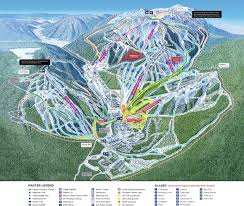 Sun Country Route Map by Sun Peaks Resort Skimap Org