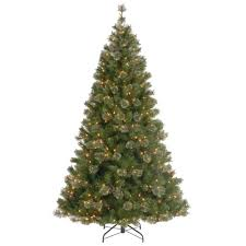 national tree company 7 1 2 ft atlanta spruce hinged artificial