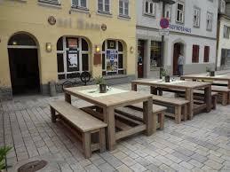 Wohnzimmer Lounge Bar Coburg Bauholz Gartentisch Gera