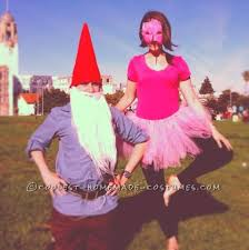 coolest garden gnomes and yard costumes