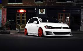 white volkswagen download wallpaper 3840x2400 volkswagen golf gti white front