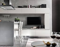 Picture Yourself In The Living Room by Model Tokyo Two Colour Minimal Modern Kitchen Spar