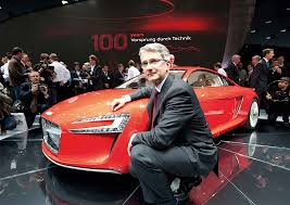 audi ceo audi ceo rupert stadler had to pay 12 500 for started