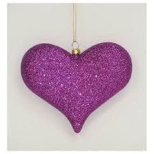 ornaments 5311465 purple glittered ornamant digs n gifts