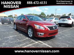 nissan altima 2013 oil change mileage featured vehicles at hanover nissan in hanover