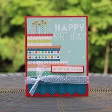 birthday cake happy birthday handmade greeting card generic