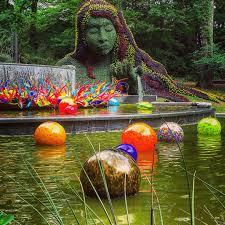 Atlanta Botanical Garden Atlanta Ga Atlanta Botanical Garden Atlanta Glass Blower Dale