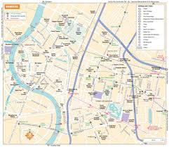 bangkok map tourist attractions bangkok maps thailand maps of bangkok
