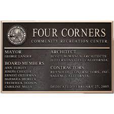 memorial plaques bronze memorial plaques a custom personalized remembrance mp01