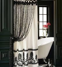 High End Fabric Shower Curtains Fabulous High End Shower Curtains And Bathroom Luxury Shower