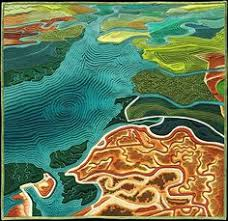 san francisco map quilt wetlands revisited map quilt by gass this is my