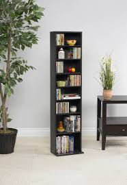 Media Storage Cabinet Summit Media Storage Shelf Cabinet Espresso Walmart Com