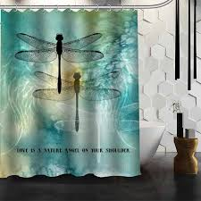 Dragonfly Shower Curtains Get Cheap Dragonfly Shower Curtains Aliexpress