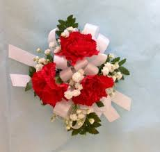 mini carnation wrist corsage in san antonio tx bloomshop