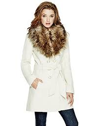 guess women u0027s alina double breasted coat double breasted double